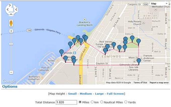 Edmonds Loop map 314