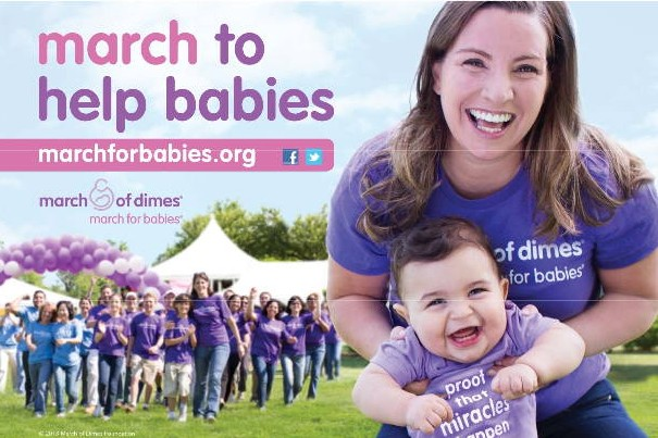 Event Detail Flyer March for Babies