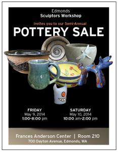 Poster - Sculptors Workshop Spring 2014 Studio Sale