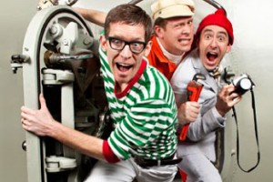 """High-energy musical group """"Recess Monkey"""" comes to the ECA Saturday."""