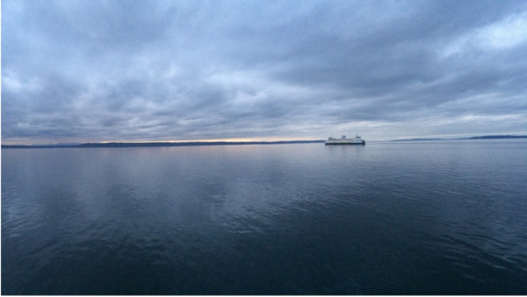 Taken by Edmonds-Woodway High School student Brittany Whitcutt Sunday from the Edmonds fishing pier.