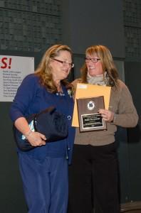 MHS community volunteer Debra Davenport
