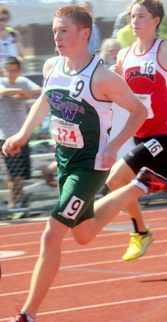 Edmonds-Woodway Miler Haller took eighth place in the 3,200 at the 4A State Track and Field Championships.