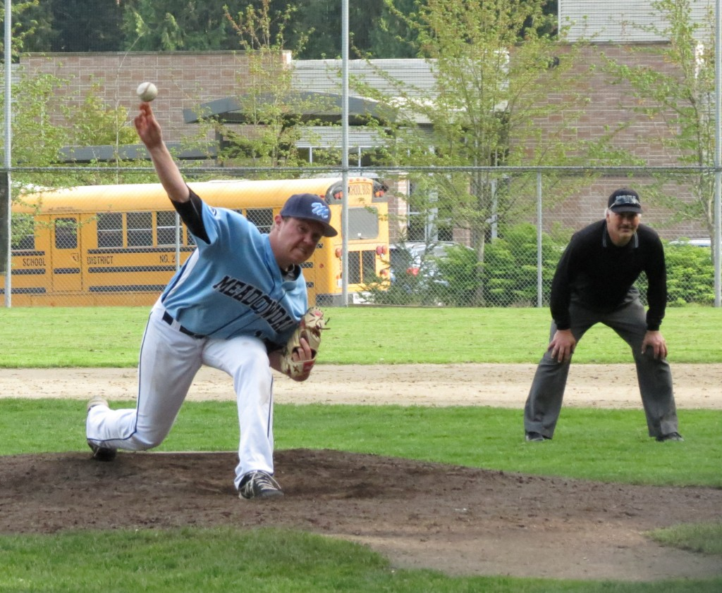 Elliott Reece pitched a complete game against the Thunderbirds Friday. (Photo by Marshall Reece)