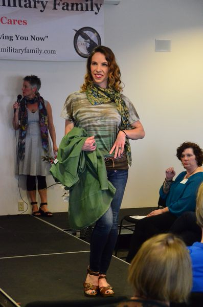 Many of the clothing articles and ensembles featured at the show are available at C'est la Vie.