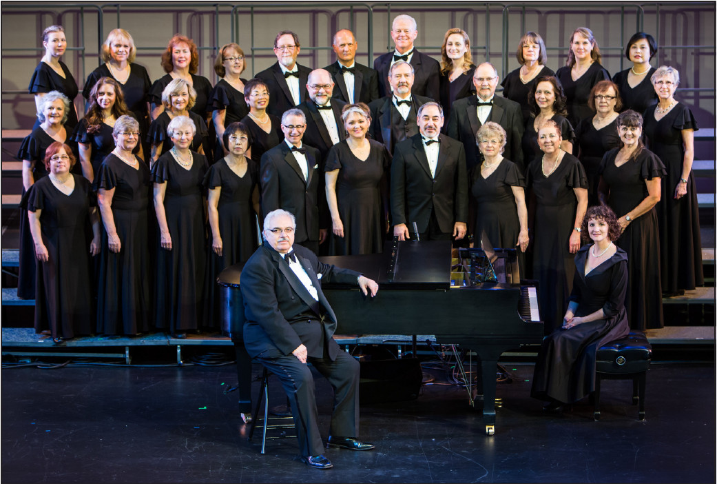 The Sno-King Chorale with Director Frank  DiMeiro.