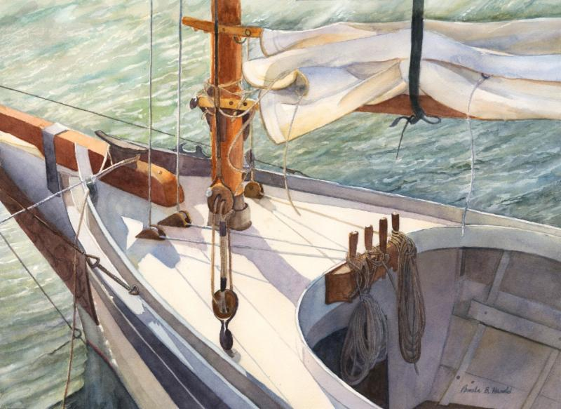 """""""Ready to Sail"""" by Pam Harold"""