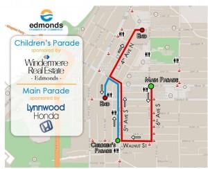 Parade routes 2014