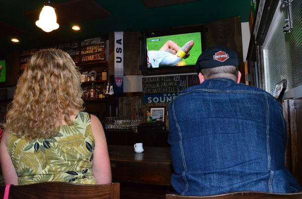 There wasn't a free barstool at the Churchkey as the game ran into its final minutes.