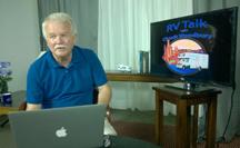 Editor Chuck Woodbury in the studio.