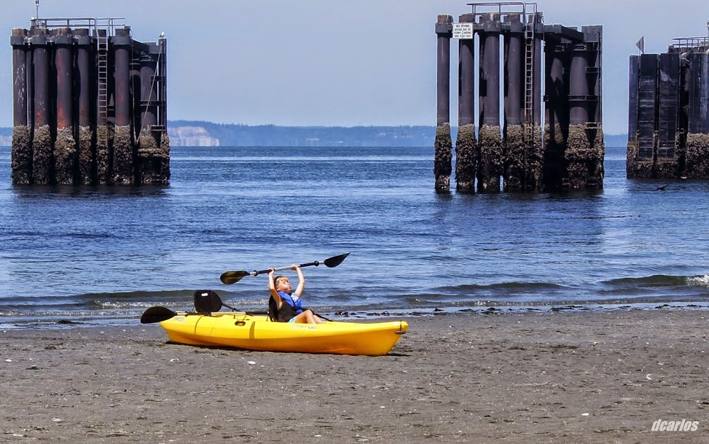 The problem with low tide.