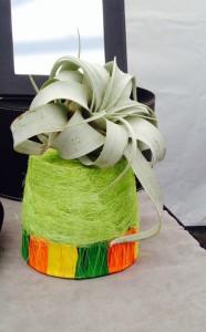 #6 Green Orange Planter