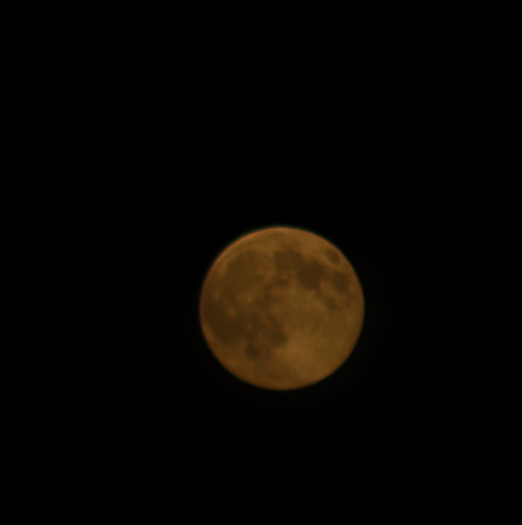From Ken Sjodin, Friday night's Super Moon.