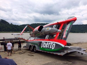 A new paint job for the Oberto.