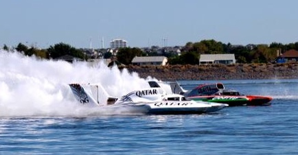 The Oberto in a preliminary heat. (Photo by Stephanie Becker)