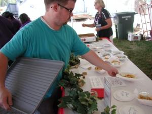 Volunteer Nick Esterly brings in a new set of Tasteoff entries.