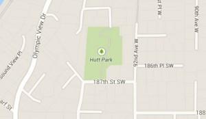 Hutt Park Map