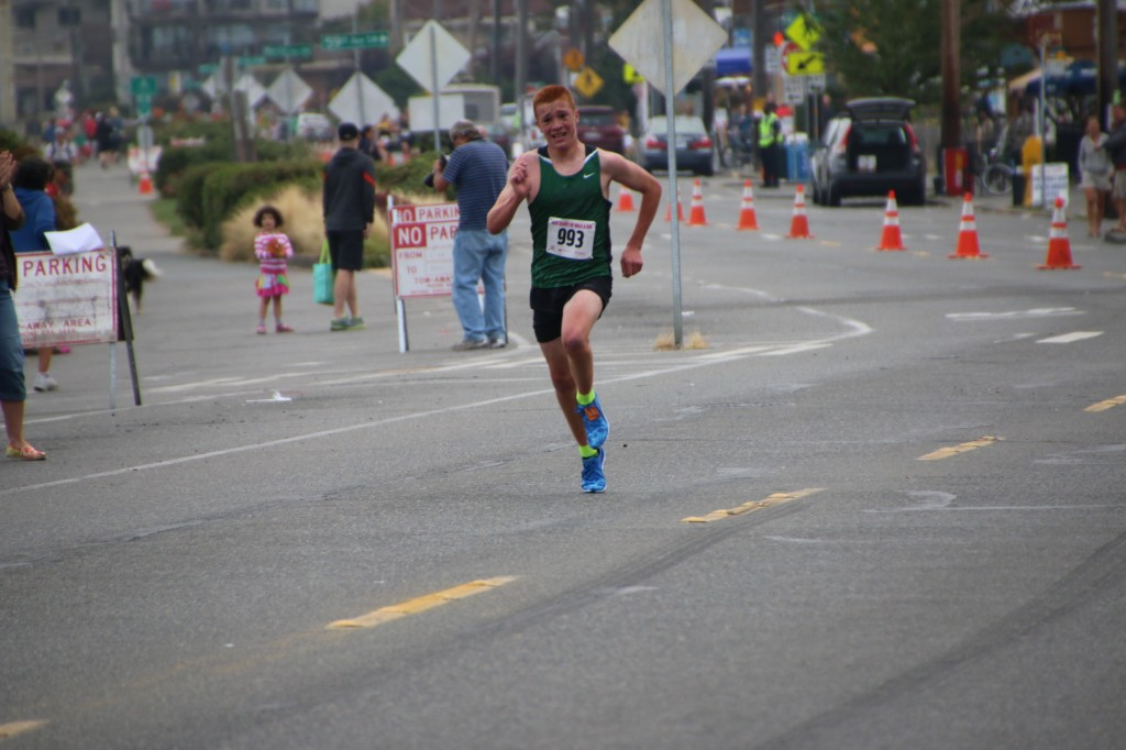 Miler Haler finished first overall.