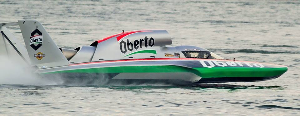 Jimmy Shane qualifies the Oberto Friday afternoon. (Photo by Greg Gustafson)