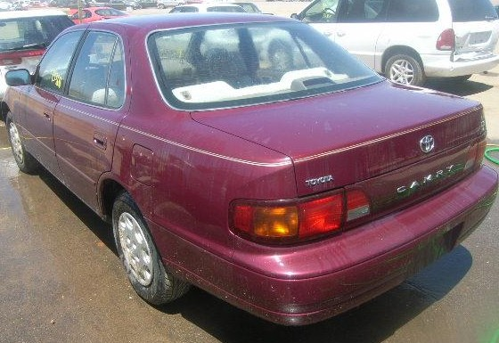 The man who threatened to kill an Edmonds family and yelled racial slurs along Sunset Avenue was reportedly driving this type of car -- a 1996 maroon Toyota Camry.
