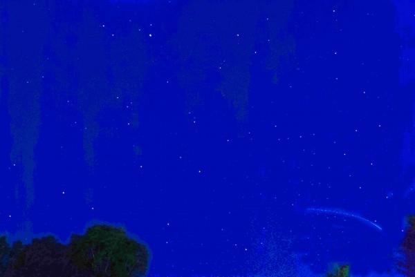 Ken Sjodin captured the Friday night sky from Edmonds City Park.