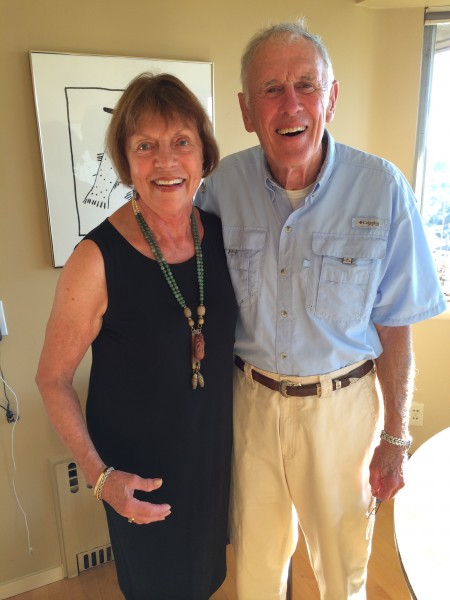 """Rick and Donna Bader hosted a party for the Donors of the Cascade Symphony on Sunday afternoon at their Emerald Hills home.  In attendance were about 20 donors including Rick Steves, a major donor and Michael Miropolsky, the music director. Celebrations catered the event and the wine from Arista  was donated by """"Friends of the Cascade Symphony.""""  The  Friends group was organized in 2013 with the mission of providing grass roots support to the Symphony.   Anyone interested in joining the Friends of the Cascade Symphony please  contact Doug Lofstrom at lofstromdoug@gmail.com"""