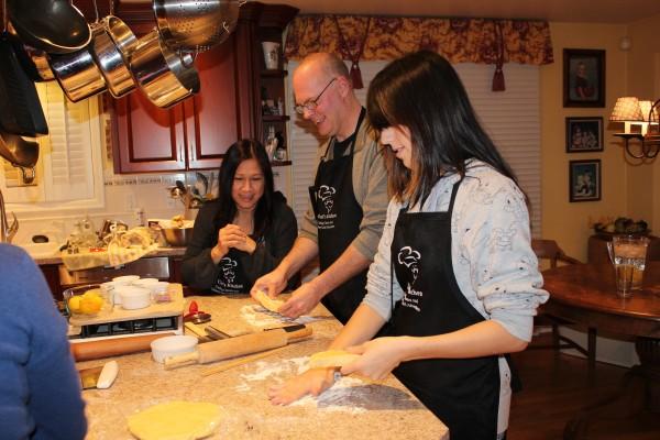 A Chefs Kitchen class.