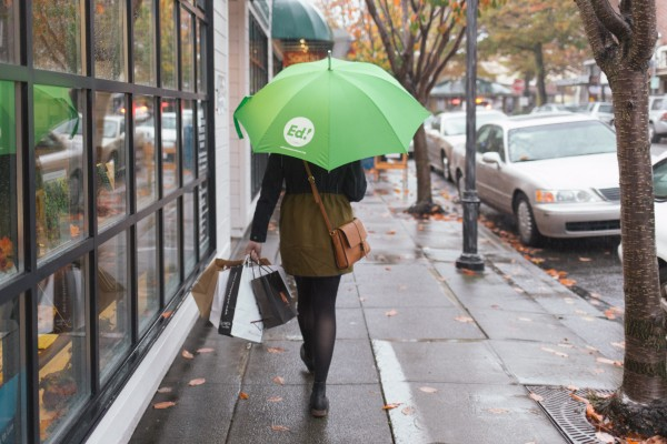 Umbrellas are coming to downtown Edmonds.