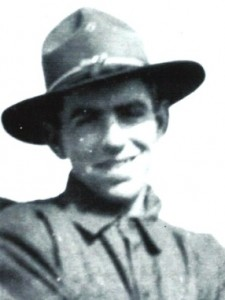 Pvt. Walter Deebach, WWI