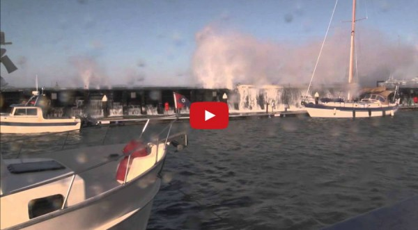 In case you missed this from last weekend, it's one of our most-viewed videos: Strong winds made for an dramatic waterfront at high tide in Edmonds on Saturday, Nov. 29.
