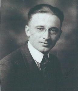 Reuben Hunter as a young man.