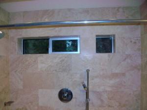 Master bath shower.