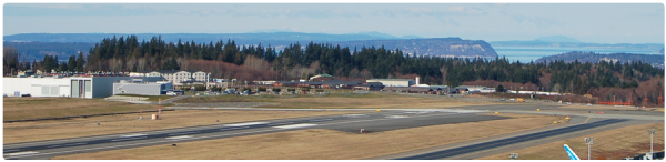 Paine Field in Everett.