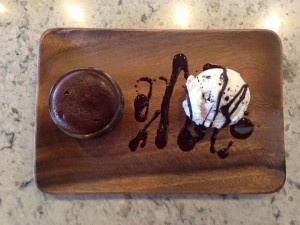 Now at Canarino Gelato: Molten Chocolate Cakes