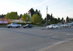 This left-turn option will be eliminated at 76th and Highway 99 headed southbound.