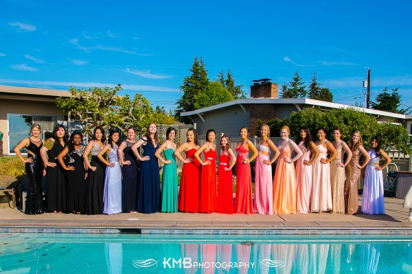 Another Edmonds-Woodway High School Senior Prom photo, from Karen Mason-Blair. (Editor's note: Loving all the gorgeous gowns gracing our pages.)
