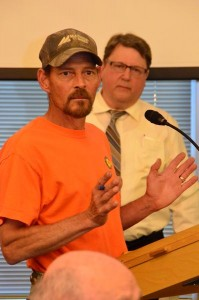 Tim Hovde of Edmonds soundly criticized the proposed tree code as an inappropriate government intrusion into individual property rights.