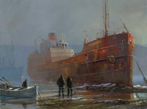 """From Austin Dwyer's """"Ships to Remember"""" collection."""
