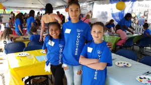 2015 Edmonds Arts Festival volunteers.
