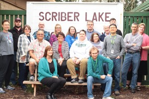 Scriber staff.