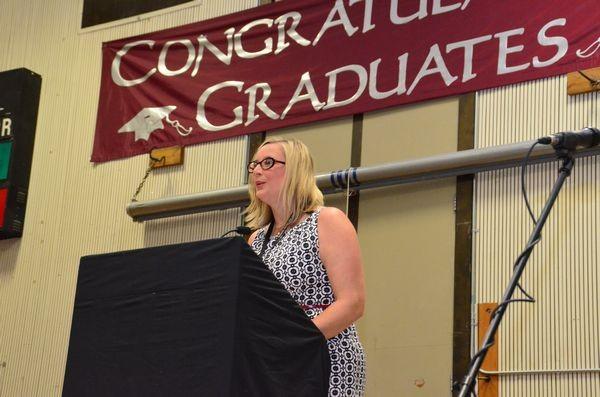 Associate principal Andrea Hillman will take over as principal of Scriber Lake High School.