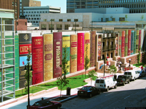 Exterior of the Kansas City Public Library, in downtown Kansas City, Mo.  (Photo  courtesy Patriot Post)