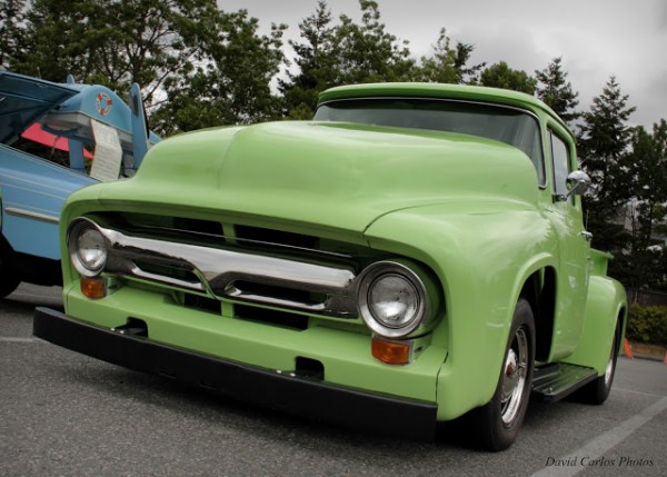 A 1956 Ford F-100.