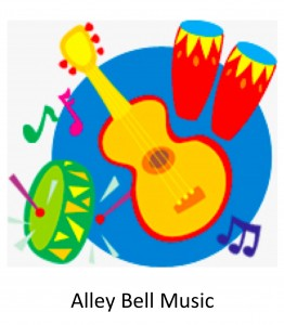 8 Alley Bell Music Colorful