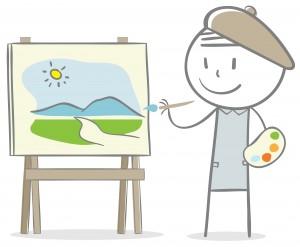 8 Artist Cartoon