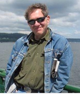 Author Bruce Fergusson.