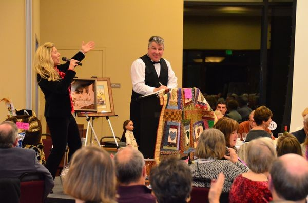 Heritage Days will again feature a live auction.  Items up for bid included exciting vacation packages, jewelry, original art, sumptuous dinners and more.