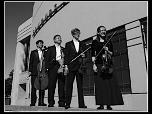 EWHS quartet Andrew Kim, Jonathan Mah, Dane Johnson, Helen Nguyen. (Photo by Steven Ly)