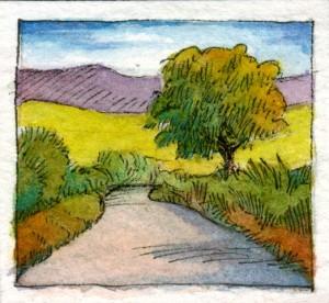 """""""Sunset Road"""" by Karen Lewis"""