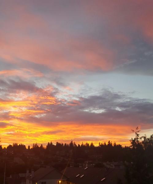 From Gary Haakenson, Tuesday morning's sunrise.